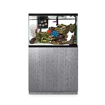 Imagitarium Brushed Steel Look Fish Tank Stand, Up to 40 Gal.