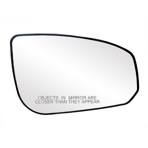(Fit System 30190 Nissan Maxima Right Side Heated Power Replacement Mirror Glass with Backing Plate)