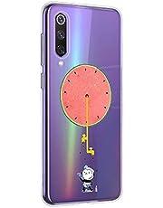 Oihxse Funda Sony Xperia 5, Ultra Delgado Transparente TPU Silicona Case Suave Claro Elegante Creativa Patrón Bumper Carcasa Anti-Arañazos Anti-Choque Protección Caso Cover (A3)