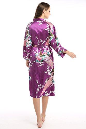 oriental kimono dress - 7