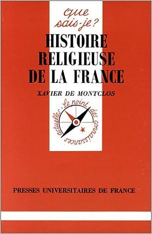 Téléchargement Histoire religieuse de la France pdf ebook