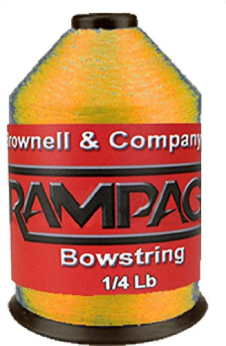 (Brownell Rampage Bowstring Material 1/4# Flo Orange)