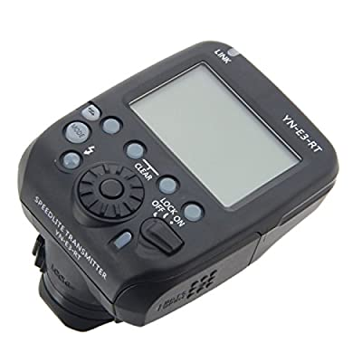 Flash Trigger - YN-E3-RT 15 Channel On-Camera Flash Signal Transmitter Black from Odysseus