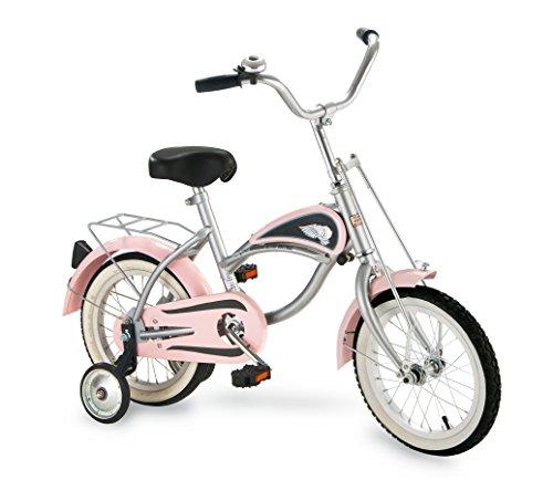 Morgan Cycle 14'' Cruiser Bicycle with Training Wheels, Pink by Morgan Cycle