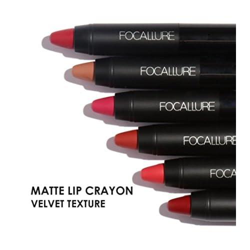 58e6e4418fa5 Women Cosmetics Matte Lip Gloss & Metallic Lip brillant Moisturizing ...