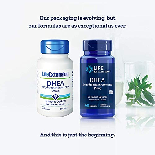 Life Extension, DHEA 50 Mg, 60-Capsules (2 Pack)