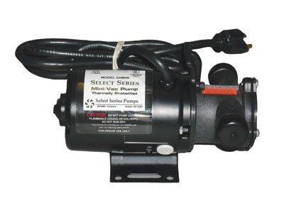 Flexible Impeller Pump (Simer Pump Mini Vac Pump SSM40 #M40)