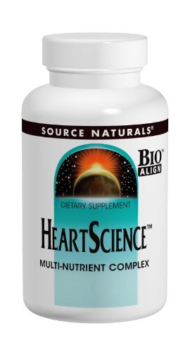 Source Naturals HeartScience, A Five-Tiered Approach to Heart Health,120 Tablets (Bioflavonoids 120 Tablets)