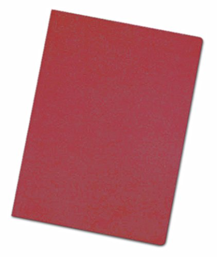 Elba Fade–Pack di 50cartelline semplici riciclate, A4, colore: rosso Hamelin Brands 400040457