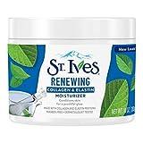 St Ives Collagen Elastin Face Moisturizer Timeless Skin 295 ml Jar (3-Pack) with Free Nail File
