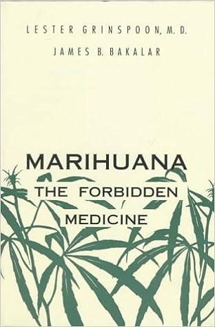 Book Marihuana, the Forbidden Medicine