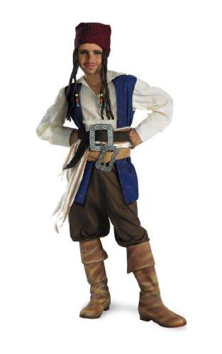 Captain Jack Sparrow Classic Child Costume - Medium]()