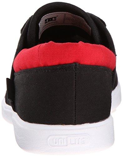 DC Hombre Haven Skate Zapatos Negro/Rojo