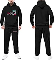 Squid Game Merch Hoodie Pants Two Piece Set Squid Game 456 067 001 Tracksuits