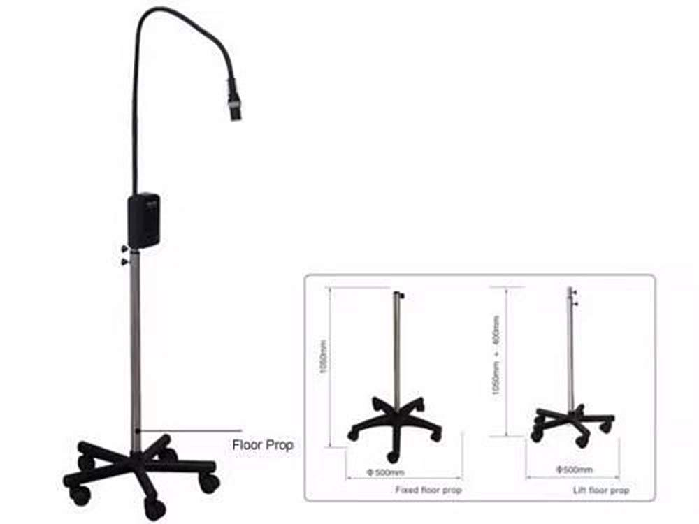 BoNew Dental 5W Focusable LED Surgical Medical Exam Examination Light Lamp KD-202B-2 Stand Floor Type