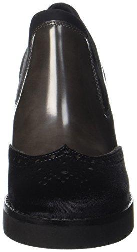 Peperosa Ac03/1, Pantofole a Collo Alto Donna Grigio (Antracite)