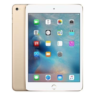 Apple au iPad mini4 Wi-Fi Cellular (MK712J/A) 16GB ゴールドの商品画像