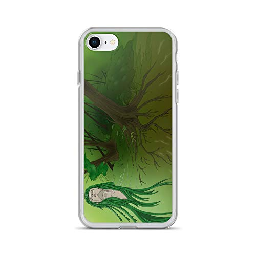 iPhone 7/8 Case Anti-Scratch Phantasy Imagination Transparent Cases Cover Forest of Life Fantasy Dream Crystal Clear ()