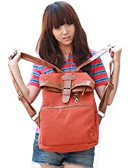 Ushoppingcart 2014 New Style Student School Bag/Backpack Causal Laptop Bag (Vintage Red)