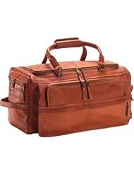 Clava Leather Multi-Compartment Duffel