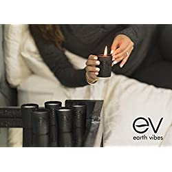 Earth Vibes Scented Candles Gift Set 6 Pack - Arom