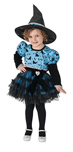 Rubie's Costume Twilight Witch Child Costume, Toddler (Girls Twilight Witch Costume)