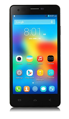 Calibarr 5 1.6 Quad Core High Performance 3G Dual SIM Smart Phone-Black