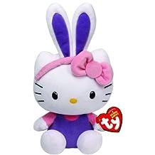 Ty Beanie Babies Hello Kitty with Purple Ears Plush