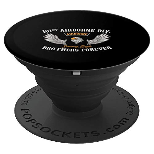 U.S. Army 101st Airborne Screaming Eagles - PopSockets Grip and Stand for Phones and Tablets ()
