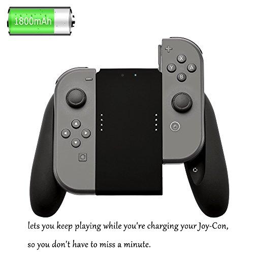 EloBeth Nintendo charger Charging 1800mAh