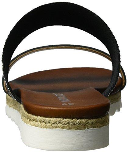 098 Ouvert Sandales Bout Tozzi Comb Premio black Femme Noir Marco 27116 1qSvg4