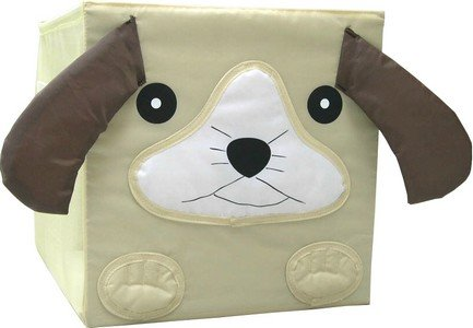 Kid Style Critter Cube, Puppy, 12 x 12 x 12'