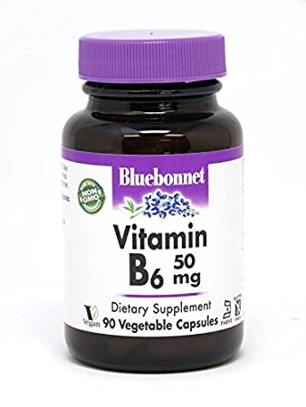 BLUEBONNET Nutrition Vitamin B6 50 mg