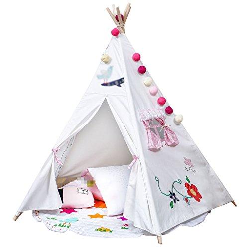 社交的ポイント銀行ZYH 子供の読書コーナー、大きなおもちゃの家ゲームハウス赤ちゃんの屋内と屋外のテント誕生日プレゼント100 * 150 * 150CM 広いスペース (サイズ さいず : 100 * 150 * 150CM)