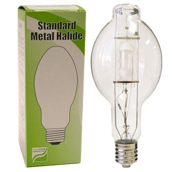 Metal Halide Lamp 1000W BT37 Mogul Base E39 by Green Energy Lighting
