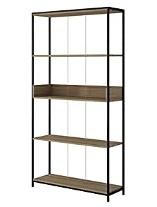 Brv móveis, shelf - be 65-152, (155 - oak/black tube)