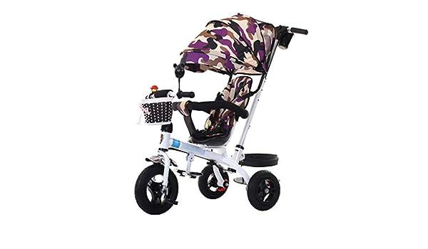 Bicicleta de Cochecito de bebé para niños de 1-6 años Trolley para ...