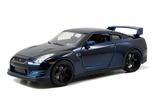 Fast & Furious Nissan GTR Blue 1:24 Diecast By Jada ()