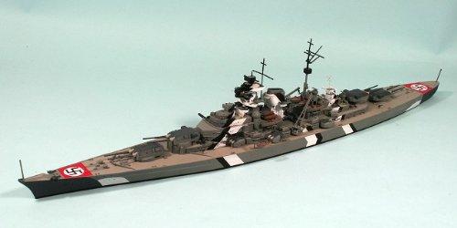 ピットロード 1/700 W121M 「1/700 独海軍 戦艦 ビスマルク/ティルピッツ 真鍮挽物砲身付」  <1/700スカイウェーブシリーズ>