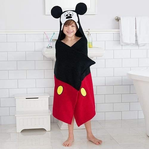 Disney Mickey Mouse Hooded Bath Wrap for sale  Delivered anywhere in USA