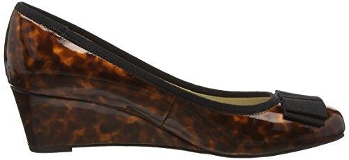 Lotus Rea 50655 - Zapatos de cuñas para mujer Marrón