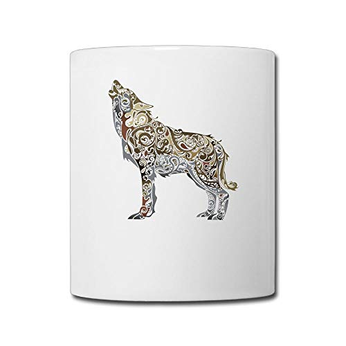 Aiguanwolf 11oz Tea Cup Coffee Mug -