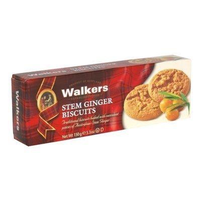 Walkers, Cookie Stem Ginger, 5.3 OZ (Pack of 12) ( Value Bulk Multi-pack)