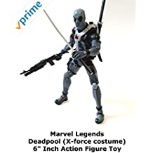 """Review: Marvel Legends Deadpool (X-force costume) 6"""" Inch Action Figure Toy"""
