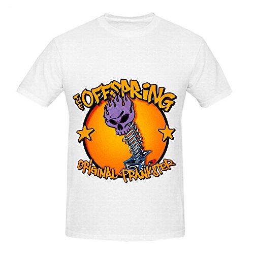 Offspring Original Prankster Rock Men O Neck Custom Shirts - Get Skinny Face To How