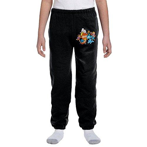 Jackson US Educational Animated TV Series Youth Slim Fit Jogger Sweatpant Harem Pants (Censored Girl Costume)