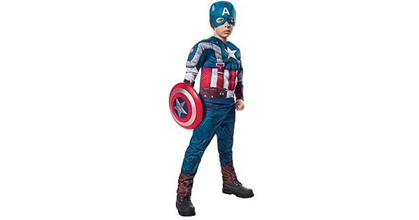 Amazon.com: Disfraz de Capitán América y el ...