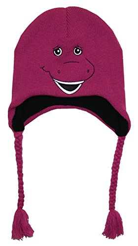 (Concept One Accessories Barney Big Face Knit Laplander Peruvian Hat)