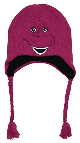 Barney Big Face Knit Laplander Peruvian Hat (Laplander Knit Peruvian)