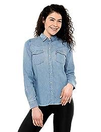 Levi's Blusa Azul Blusa para Mujer